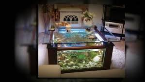 Fish Tank Living Room Table - coffee table enchanting square aquarium coffee table youtube fish