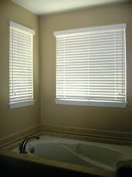 Mini Blinds Lowes Window Blinds Wood Window Blinds Pearl White Cordless Room