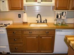 kitchen elegant wood countertop design with butcher block