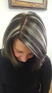 how to put highlights in gray hair best 25 going gray ideas on pinterest going gray gracefully