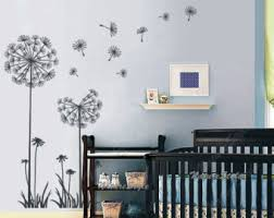 Vinyl Wall Decals For Nursery Dandelions Wall Decal Nursery Wall Decal Nursery Wall Sticker