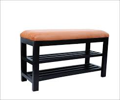 Orange Storage Ottoman Furniture Wonderful Bench Shoe Rack Storage Orange Storage