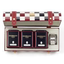 tea gift sets coffret dammann damier tea gift sets illyshop