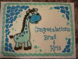 giraffe baby shower cakes giraffe baby shower sheet cakes giraffe baby shower cakes and