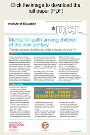 ucl bureau one in four is depressed at age 14 study reveals