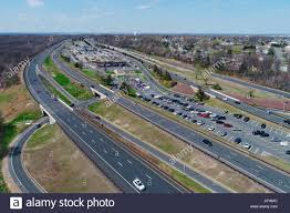 Garden State Parkway Map The Garden State Parkway Near Cheesequake Rest Area Stock Photo