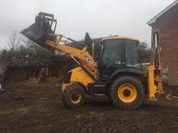 jcb 3cx hire with cpcs operator digger excavator