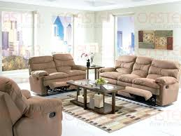 Reclining Sofa With Console by Microfiber Loveseat Recliner With Console Harmon Dual Reclining