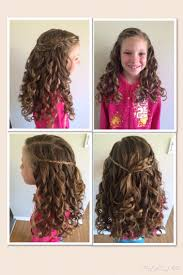 cute hairstyles for first communion first communion hairstyle went perfectly with the veil my
