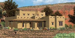 Southwestern Home by Santa Fe House Plan House Plans By Garrell Associates Inc