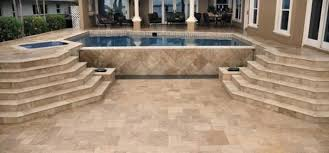 Large Pavers For Patio by Laying Travertine Tile Outdoors Gold Versailles Pavers Travertine