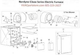 e3020 nordyne electric furnace parts u2013 hvacpartstore