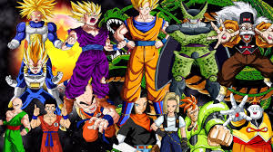 android saga z android saga cell saga power levels