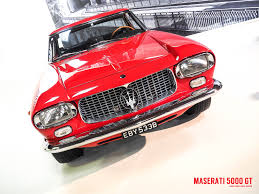 red maserati sedan shot the maserati 5000 gt u2013 gary marlowe u2013 medium