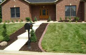 bricks for flower bed borders ortega lawn care