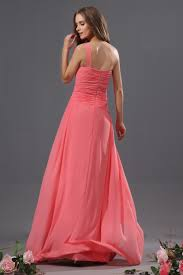 buy cheap fits perfectly 2013 coral bridesmaid dress with one shoulder
