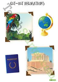 around the world classroom theme pack teaching resource teach