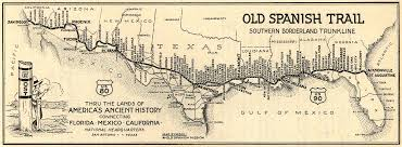 Florida Trail Map by Old Spanish Trail At Americanroads Us