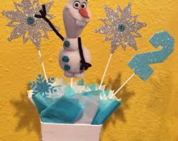 olaf disney frozen birthday centerpiece