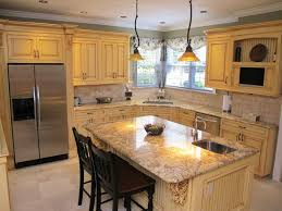 Kitchen L Shaped Island by Island Kitchen Designs Zamp Co
