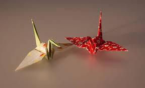 wishing paper 6 feb 1000 paper cranes style my