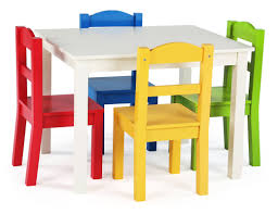 kidkraft nantucket table and chairs chair set light finish furniture for playroom and 4 chairs set
