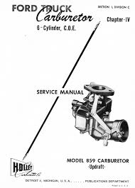 holley 859 carburetor service manual old car manual project