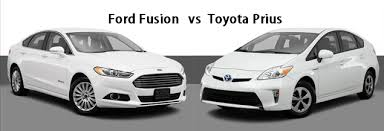 toyota prius vs ford fusion what s the difference between the ford fusion and the toyota prius