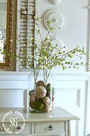 vignette home decor using filler in fluff in home decor making arrangements