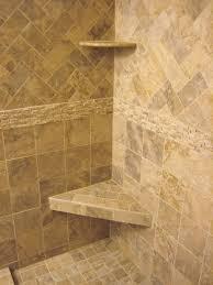 Bathroom Tile Designs Gallery Master Bath Pale Pebble Tile Shower - Shower wall tile design