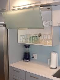 Kitchen Cabinet Door Materials by Bi Fold Kitchen Cabinet Doors Tv In With Retractable View Full