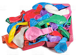 balloons in a box colorful bunch of balloons in a box stock photo 471777768 istock