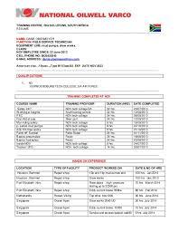 up to date cv template nov cv template technicians