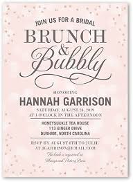sparkling bubbly 5x7 bridal shower invitation shutterfly