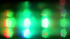 soft focused multicolored led lights blink stock footage