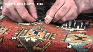 Oriental Rug Repair William Ahad Oriental Rugs Repair And Restoration Houston Tx Youtube