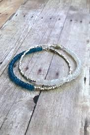 silver bead bracelet diy images Rainbow moonstone bracelet natural stone jewelry delicate jpg