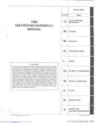 chevrolet malibu 1980 4 g workshop manual