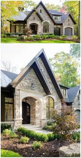 Front Porches On Colonial Homes by Best 25 Stone Exterior Houses Ideas On Pinterest House Exterior