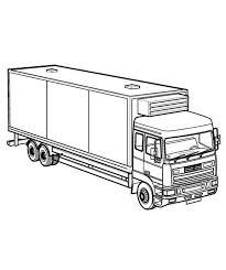 big rig semi truck coloring netart