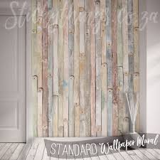 vintage wood mural wooden wallpaper mural stickythings south