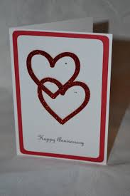 8 best images of handmade anniversary cards bird punch card