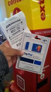 cvs prepaid cards cvs get a 45 05 moneymaker on the paypal prepaid reloadable
