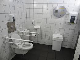 bathroom ideas public handicap bathroom with toilet and small