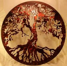 never miss this handmade tree of wall decor for your family