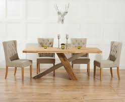 Fabric Chairs For Dining Room by Astonishing Oak Dining Table And Fabric Chairs 55 About Remodel
