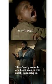The Walking Dead T Dog Meme - the walking dead my first meme thing i made mandie zombies