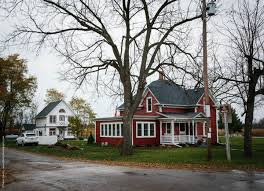 wisconsin house red victorian house jevne farm meridean wi historic city series