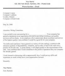 writing employment application letter sample job application