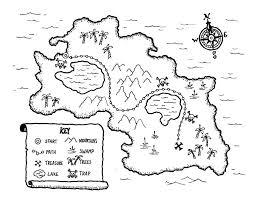 printable map key printable kids treasure map coloringpagebook com
